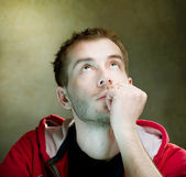 Thinking Man — Stock Photo