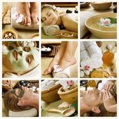 Procedimentos de spa. day spa — Foto Stock