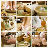 Spa procedures. dag-spa — Stockfoto