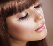 Maquillage mode. peau parfaite — Photo