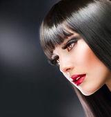 Fashion Brunette — Stock Photo