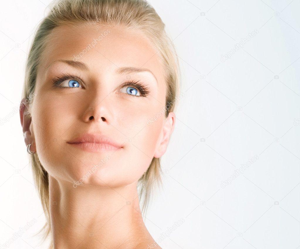 beauty girl face make - photo #46