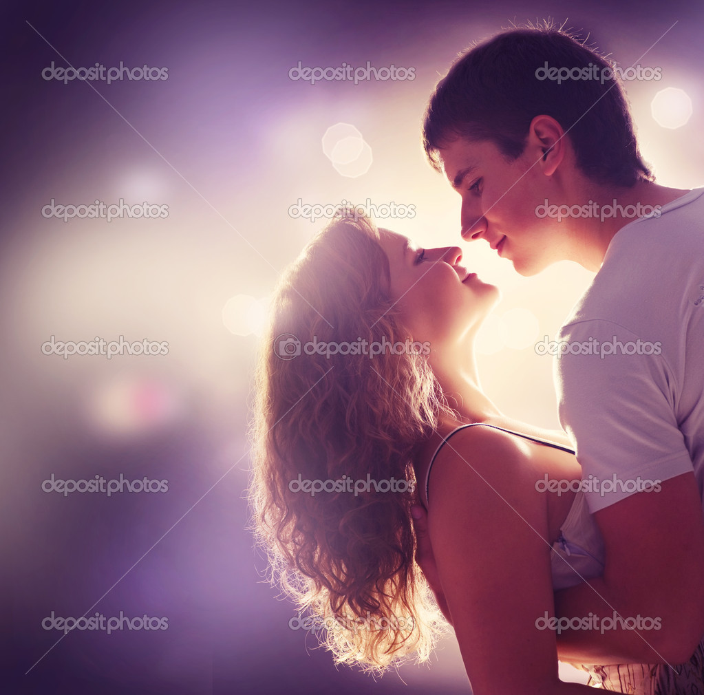Young Couple in love — Foto Stock #10605304