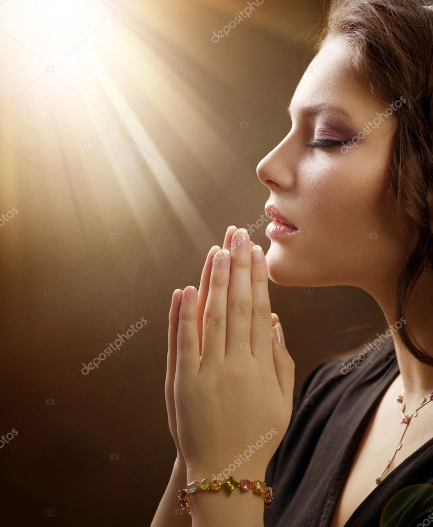 Praying Woman — Stock Photo #10605346