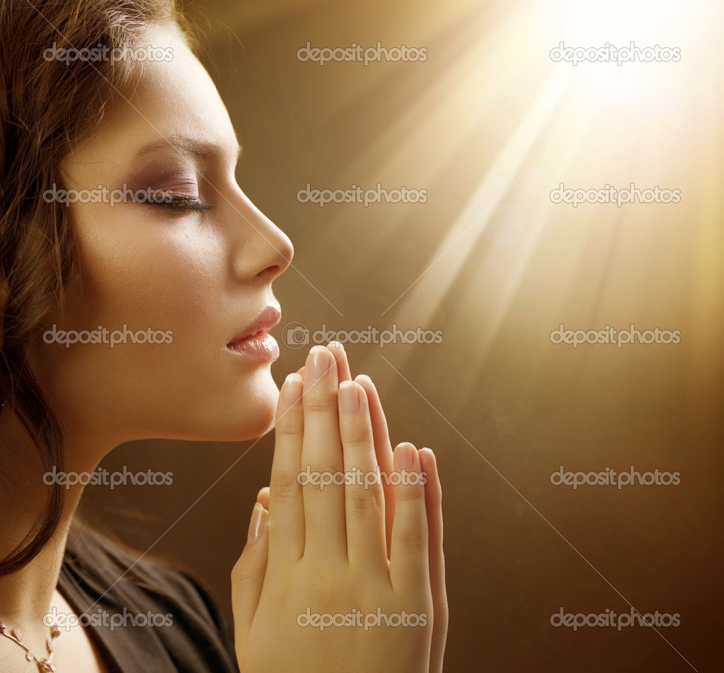 Praying Woman — Stock Photo #10605347