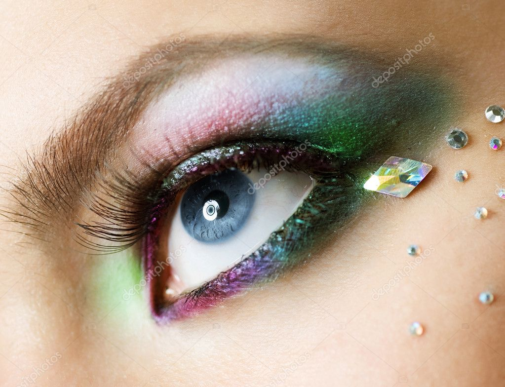 Eye Makeup — Stock Photo #10605370