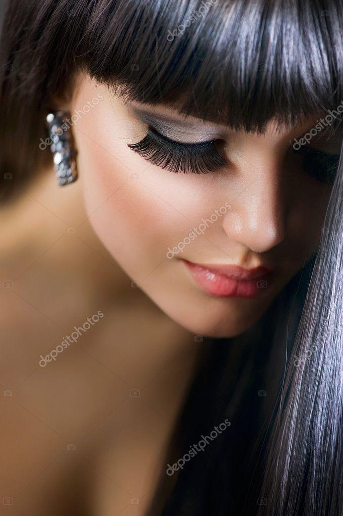 Фотки брюнетки красивые девушки