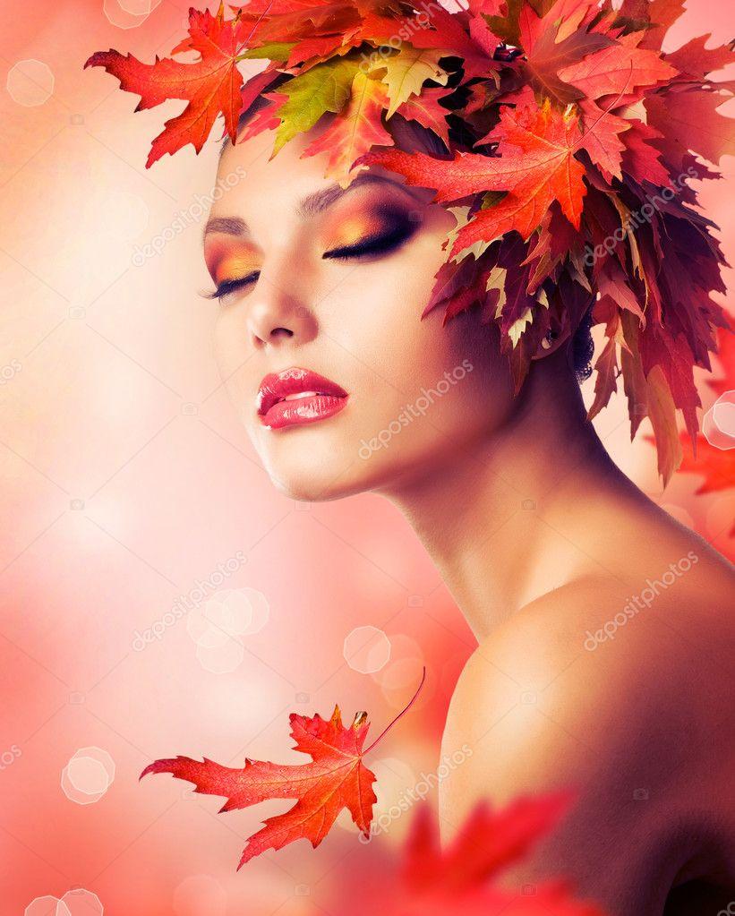 Осень макияж