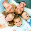 Stock Photo: Healthy Family. Happiness