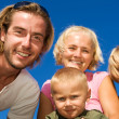 Happy Family Outdoor — Stock Photo #10676196