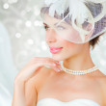 Bride portrait.Wedding dress — Stock Photo