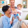 Happy Family with kids — Stock Photo #10676337