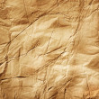 Old Crumpled Paper - Stock Photo