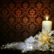 Vintage Christmas Decoration - Stock Photo