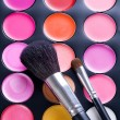 Makeup. Professional multicolor set — Stock Photo