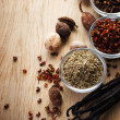 Stock Photo: Spice Border