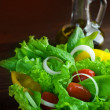 Stock Photo: Healthy Fresh Vegetable Salad