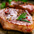 Grilled Steak - Foto de Stock