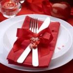 art, banquet, arc, bougie, restauration, concept, couple, coutellerie, d — Photo
