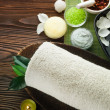Stock Photo: Spa And Body Care Treatment