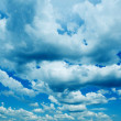 Background Of Cloudy Sky — Stock Photo