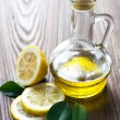 Olive Oil And Lemon — Stockfoto