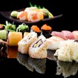 Stock Photo: Various Sushi