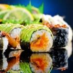 Sushi Rolls — Stock Photo #10677536