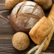 Stockfoto: Bakery Bread Border