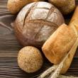 Bäckerei Brot Grenze — Stockfoto