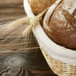Bread closeup — Stockfoto #10678093