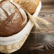 Bread Border — Stock Photo