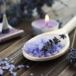 Aromatherapy. Lavender Spa — Stock Photo