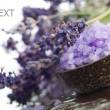 Lavender Cosmetics — Stock Photo