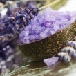Stock Photo: Lavender Spa