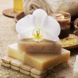 Stock Photo: Spa natural Products