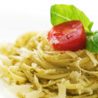 Italian Pasta Closeup - Stock Photo