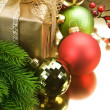Christmas Decoration border — Stock Photo #10678593