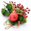 Christmas and New Year Decoration - Stockfoto