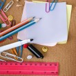 Stationery. School Accessories — Stock Photo #10679044