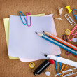 Stationery. School Accessories — Stock Photo #10679050