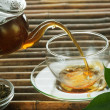 Stock Photo: Pouring Tea
