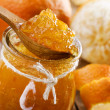 homemade orange jam — Stock Photo