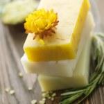 Natural Handmade Soap. Spa — Stock Photo