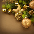 Christmas and New Year Decorations — Stock Photo #10679346