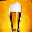 Beer Pouring — Stock Photo