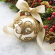 Christmas Bauble — Stockfoto #10679641
