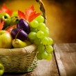 Organic ripe fruits — Stock Photo #10679835