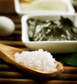 Spa Sea Salt — Stock Photo