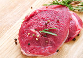 Meat Raw Steak — Stock Photo